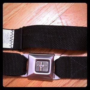 Ford Mustang licensed seatbelt belt